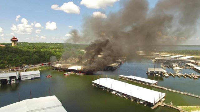 Highport Marina fire