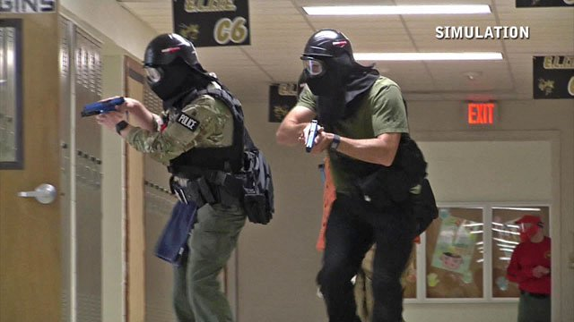 Training for an active shooter situation