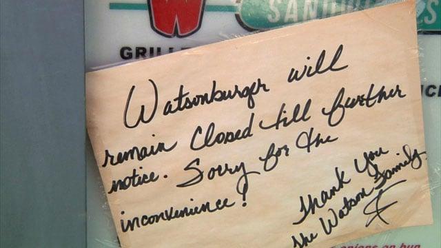 Message from Watsonburger