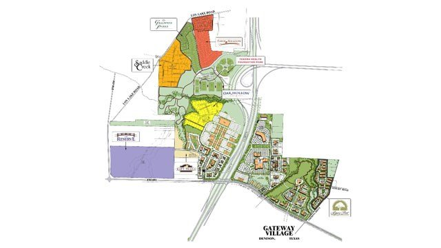 Gateway Village master plan