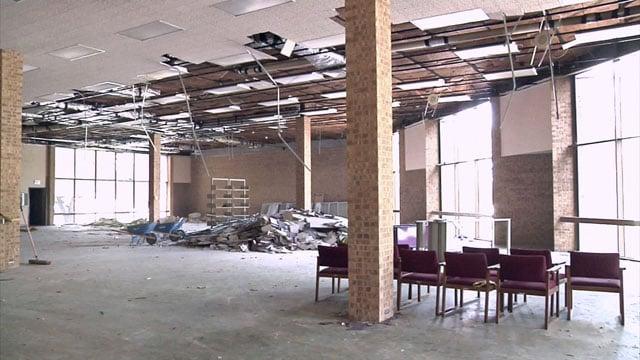 Sherman Public Library reconstruction