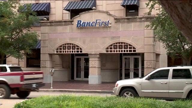BancFirst Oklahoma City entrance