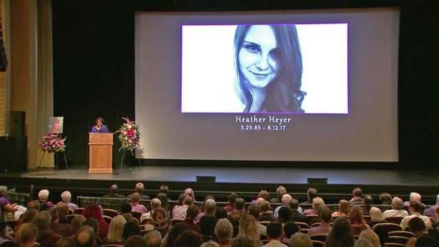 Heather Heyer memorial service