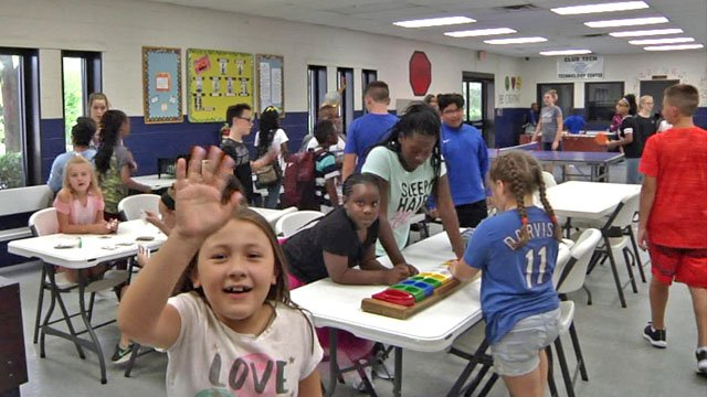 After school program at Boys and Girls Club of Sherman