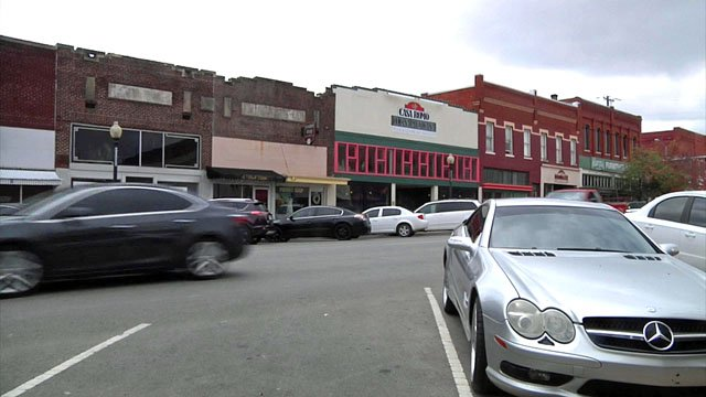 Historic downtown Ardmore
