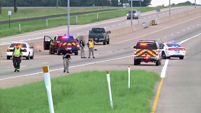 U.S. 75 blocked after fatal shooting