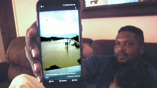 Philip Smith uses app to monitor Houston home