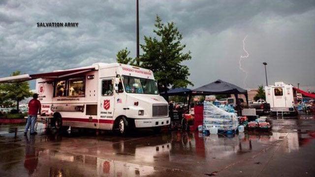 Salvation Army food trucks