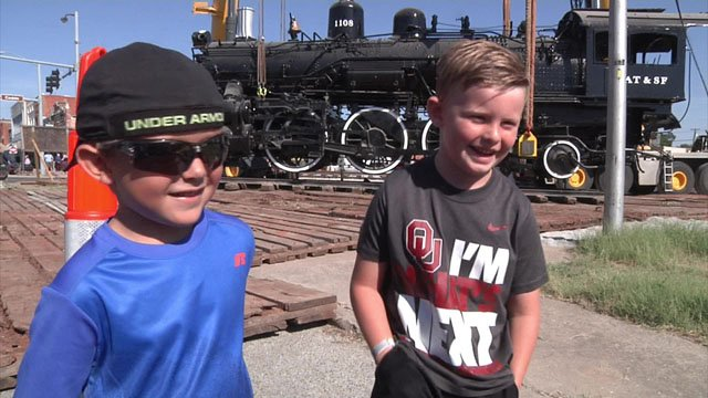 Ardmore locomotive moved