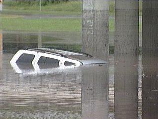 2007 Sherman flooding