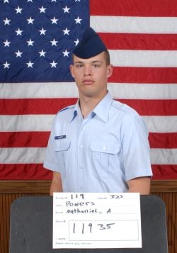 Air Force Airman Nathaniel A. Powers
