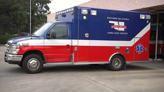 Southern Oklahoma Ambulance Service could soon no longer serve parts of Carter County. (File/KTEN)