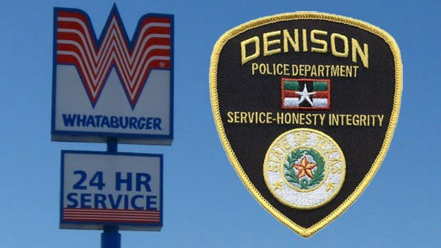 A Whataburger employee refused to serve two Denison police officers. (Terry Ross / CC BY-SA 2.0 / KTEN)