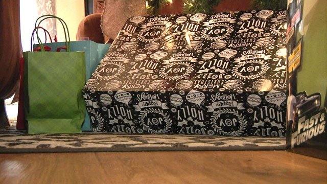 Christmas gifts are waiting under the tree for Austin Solis. (KTEN)