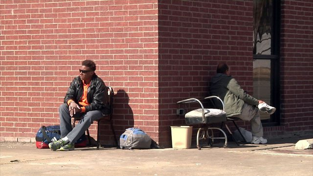 Homelessness is a growing problem in Texoma. (KTEN)