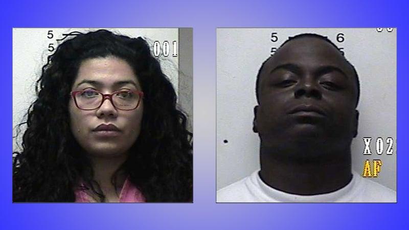 Brenae White and Joshua Jackson (Photo: Durant PD)