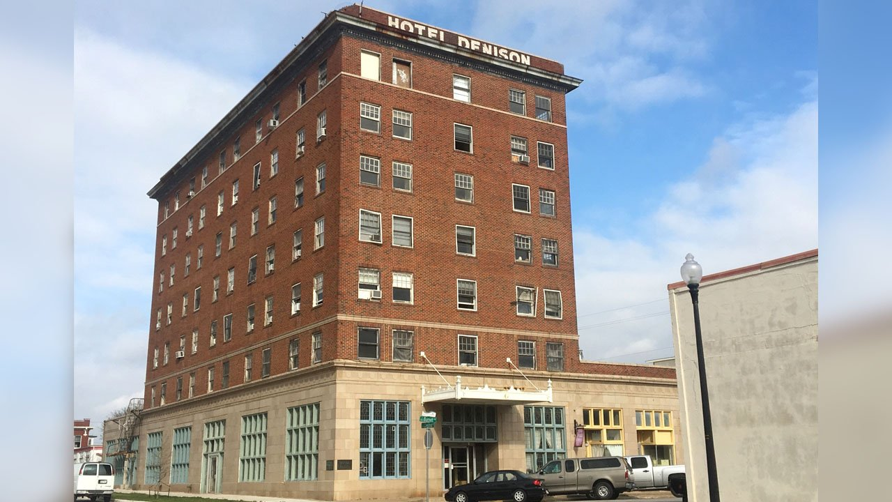 There are plans to renovate the historic Hotel Denison. (KTEN)