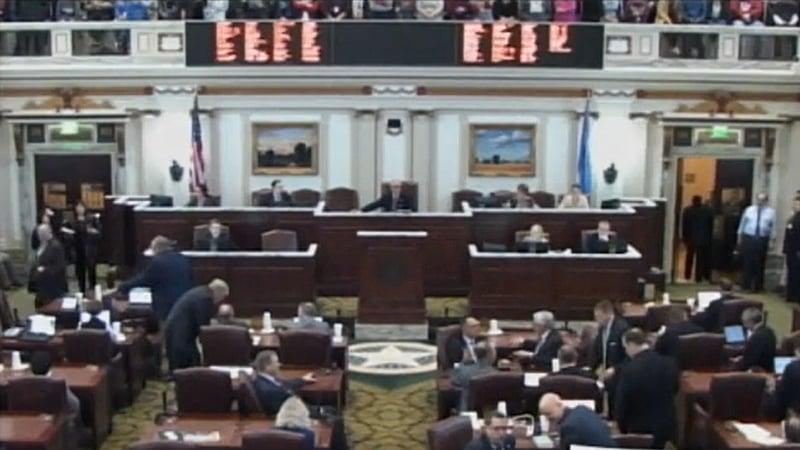 The Oklahoma House of Representatives (File)
