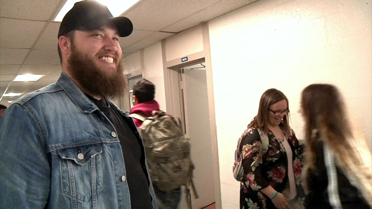 Trevor McBane credits his home town of Savanna, Oklahoma, for supporting his entertainment career. (KTEN)