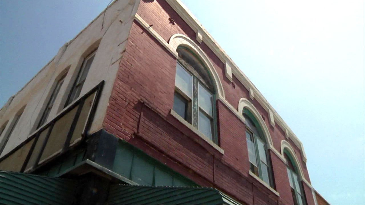 Empty spaces above retail shops in downtown Durant offer opportunities for residential lofts. (KTEN)