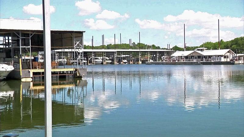 Highport Marina in Pottsboro. (File/KTEN)