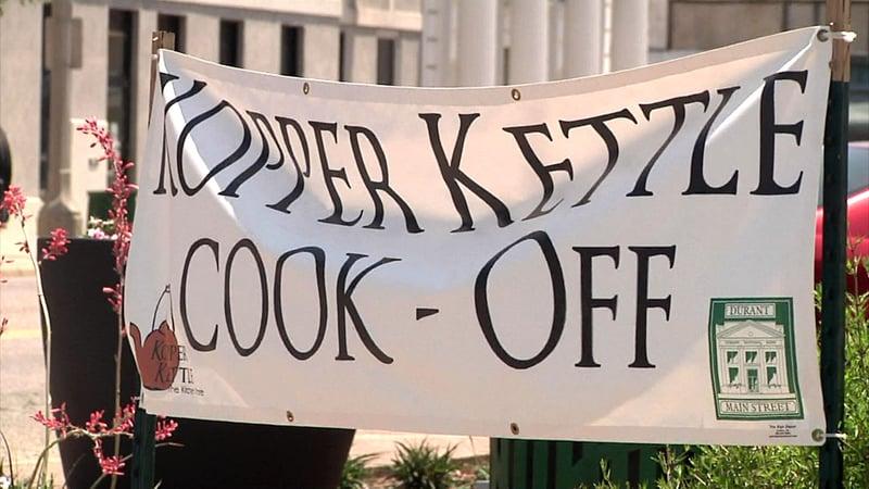 The Kopper Kettle Cook-Off is set for Durant Main Street. (KTEN)