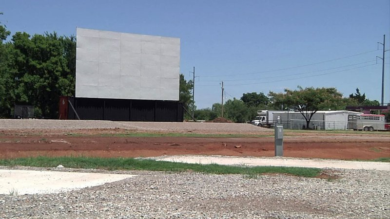 The Cool Breeze RV Cinema and Resort is getting ready for its first drive-in movie. (KTEN)