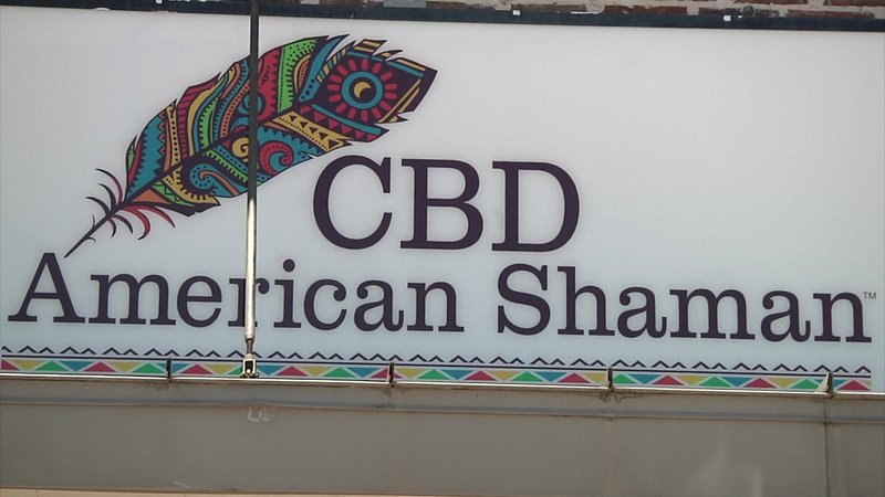 CBD American Shaman is one of two new marijuana-related businesses in Durant. (KTEN)