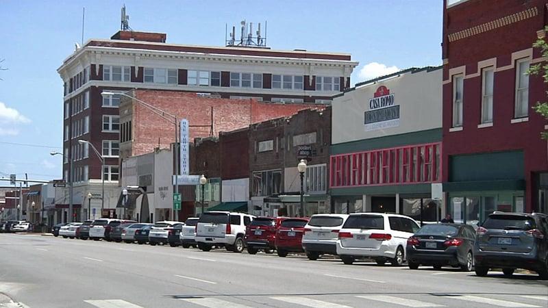 Downtown Ardmore, Oklahoma. (KTEN)