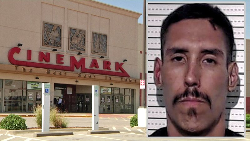 Bryan Morrison was arrested in connection with a stabbing at the Sherman Cinemark theater on July 6, 2018. (KTEN)