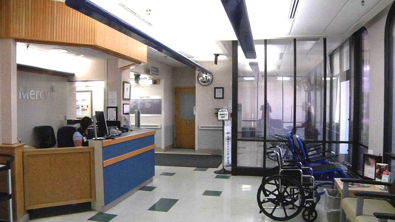 A new look is coming to the entrance of Mercy Hospital in Ada. (KTEN)