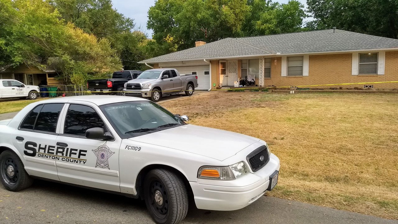 A Pilot Point police officer shot and killed a man with a gun at this residence on July 27, 2018. (KTEN)