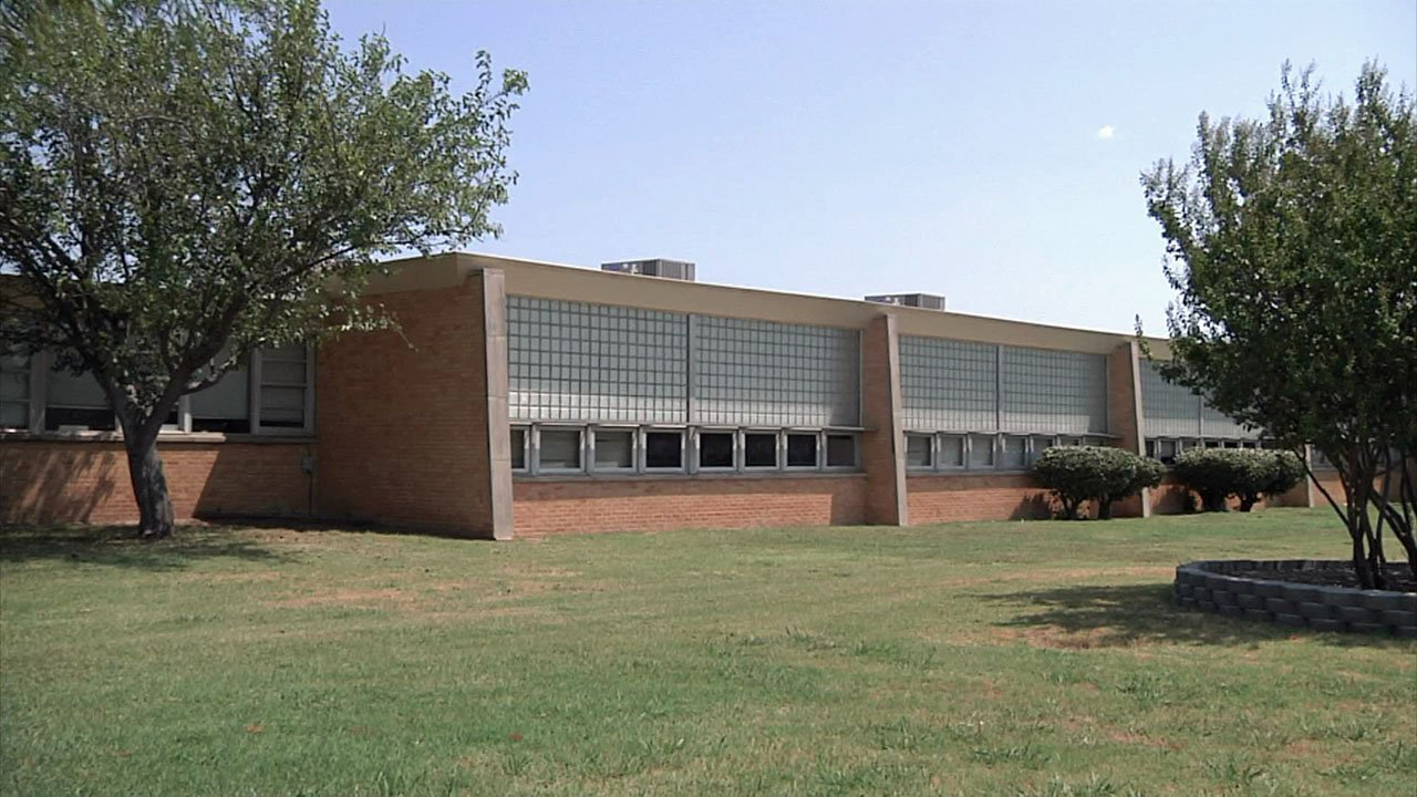 The new home of Ardmore's Take Two Academy is a former elementary school. (KTEN)