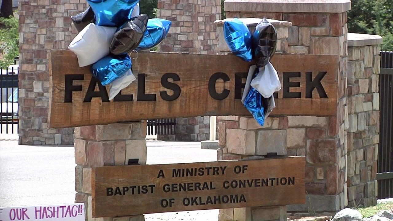 Falls Creek Camp. (KTEN)