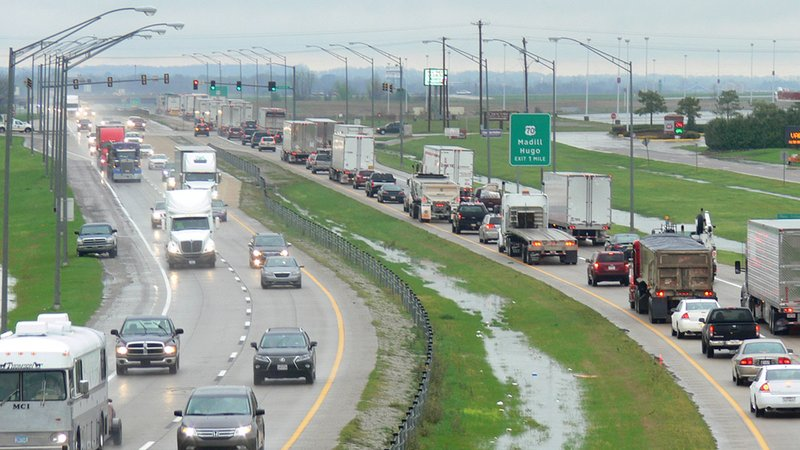ODOT plans to rebuild this stretch of U.S. 69/75 through Calera to reduce congestion and improve safety. (ODOT)