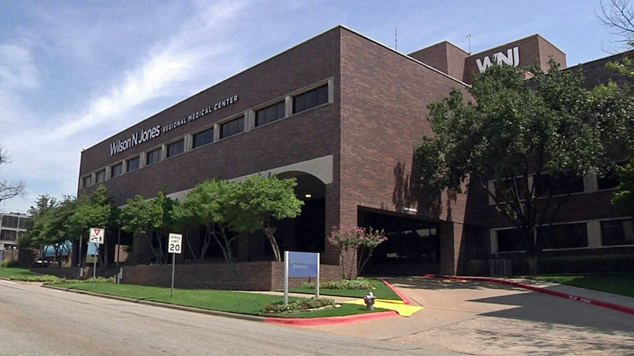 Wilson N. Jones Regional Medical Center in Sherman. (KTEN)