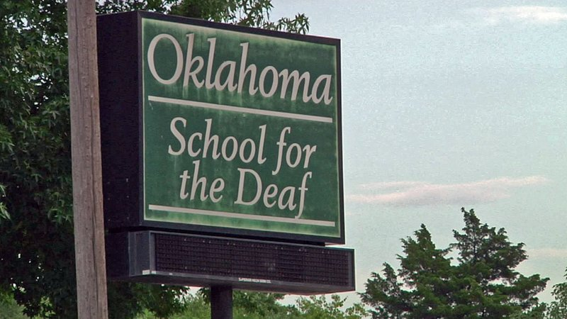 The Oklahoma School for the Deaf in Sulphur was closed after threats on August 16, 2018. (KTEN)