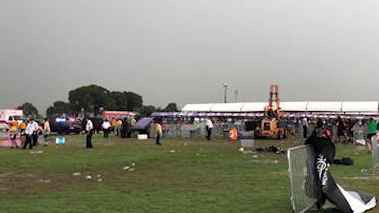 The scene of the WinStar incident on August 18, 2018. (Courtesy Linda Tesfatsion via CNN)