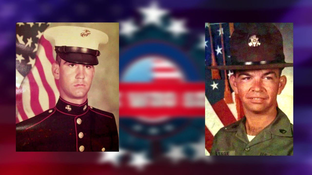 Billy Teague and his father both served their country. (KTEN)