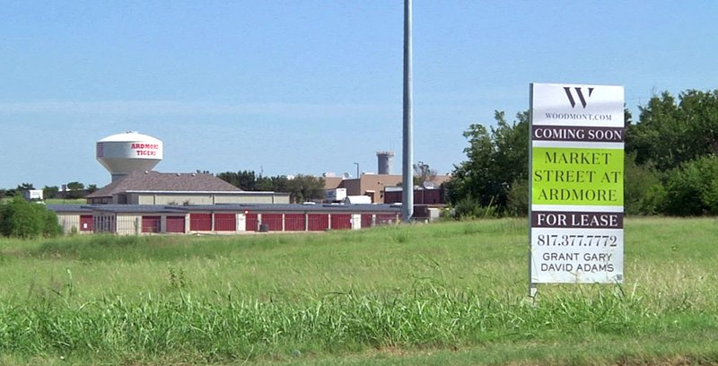 Market Street at Ardmore will bring more new business to the city. (KTEN)