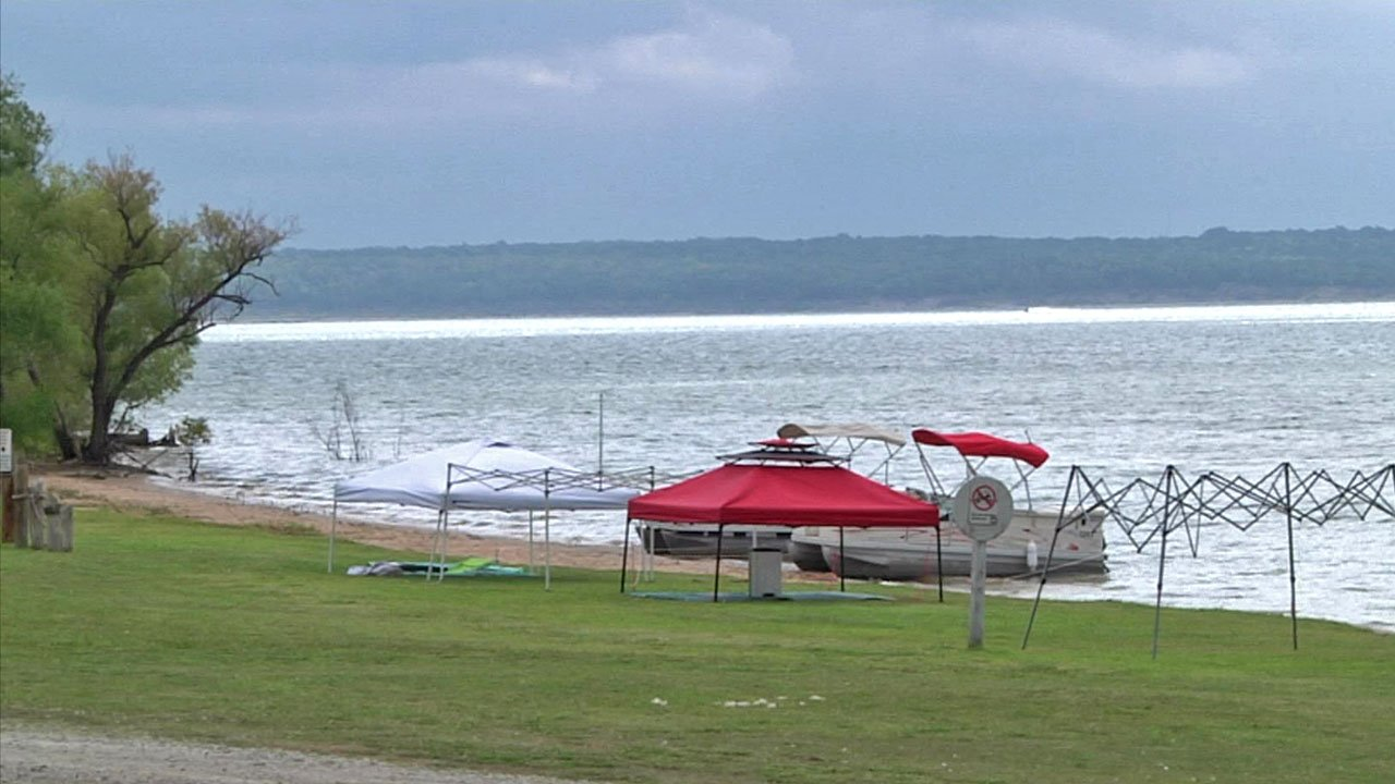 A new search and rescue boat will help Enos firefighters reach trouble spots on Lake Texoma more quickly. (KTEN)