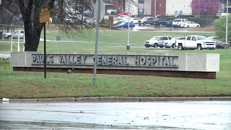 The hospital in Pauls Valley was closed on October 12, 2018.  (KTEN)