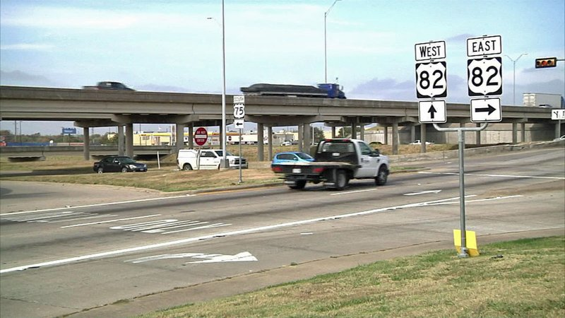 The busy intersection of U.S. 75 and U.S. 72 will get an upgrade. (KTEN)