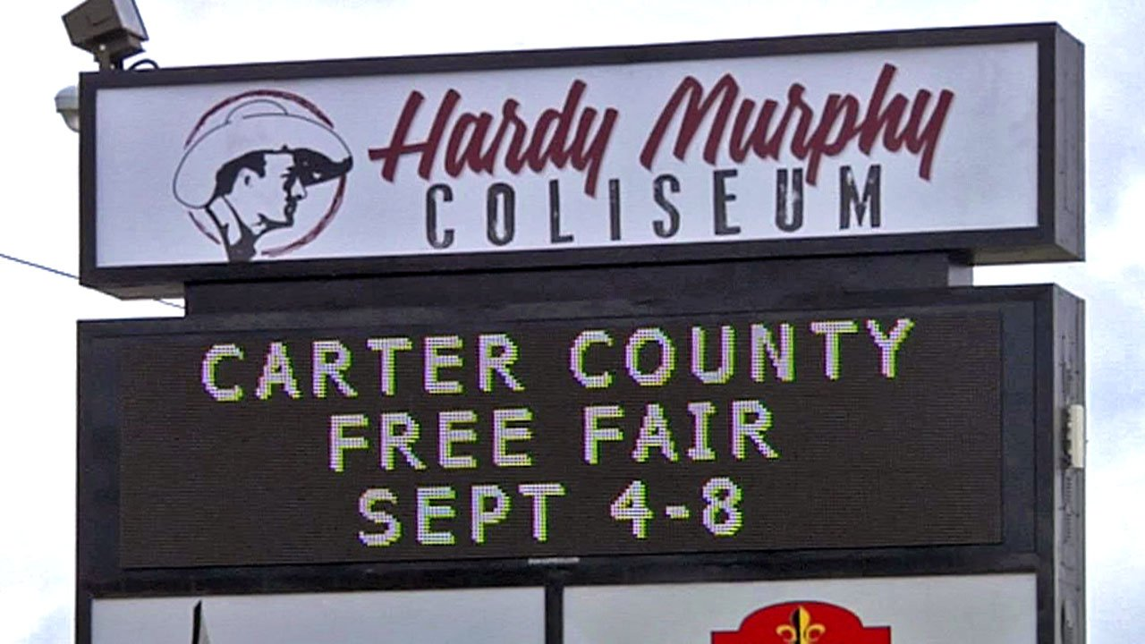 The Carter County Fair in Ardmore.  (KTEN)