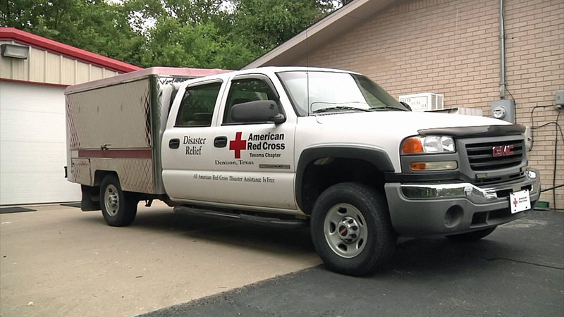 The Red Cross chapter in Denison is bracing to send help to victims of Hurricane Florence. (KTEN)