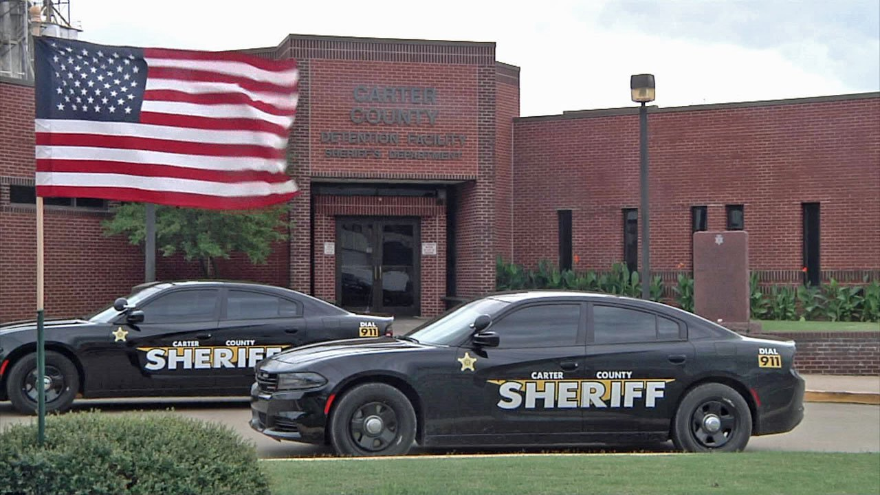 The Carter County Sheriff's Office in Ardmore. (KTEN)