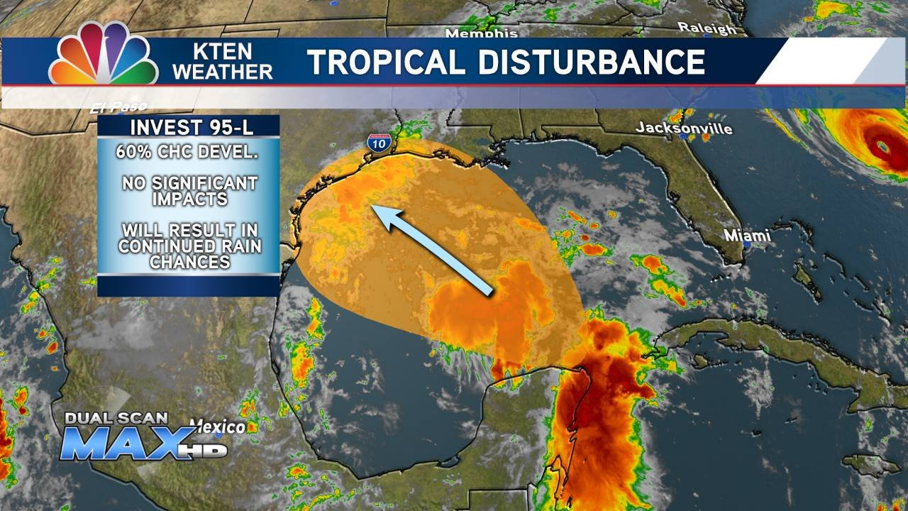 Tropical Disturbance in Gulf