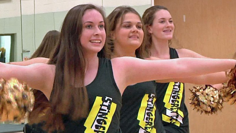 The Denison Stingerettes are looking forward to their performance at the 2019 Macy's Thanksgiving Day Parade in New York. (KTEN)