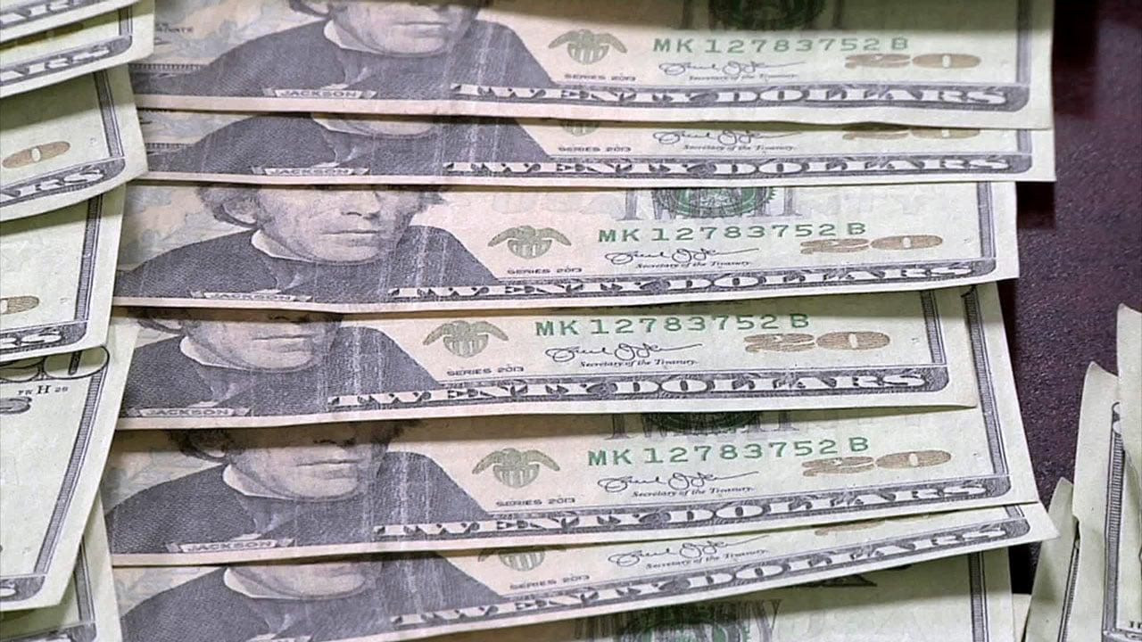 Atoka police seized $11,000 in counterfeit bills from a car. (KTEN)