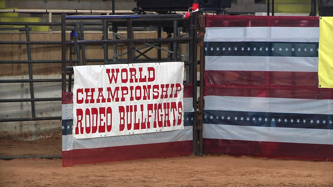 Hardy Murphy Coliseum in Ardmore is hosting a big bullfighting competition. (KTEN)